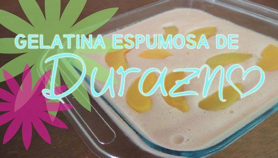 Peach Jelly Recipe....easy! (spanish version) MyCupcakelandia YouTube.