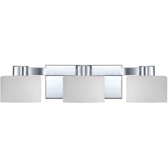 Illumina Direct Polished Chrome 21 Inch Three Light Vanity On SALE
