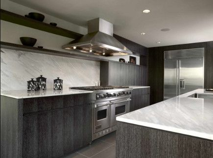 limed oak kitchen cabinets - ebonized oak kitchen by Warmington ...