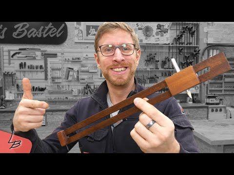 Diesen Zirkel Solltest Du Nachbauen Lets Bastel Youtube Werkbank Selber Bauen Holzwerkzeug Werkstatt Werkzeuge