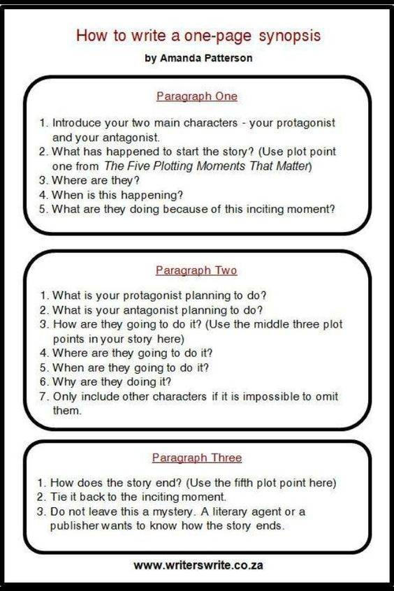 How to write a one-page synopsis. #amwriting #amquerying
