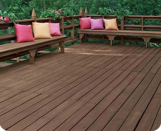 Deck over paint decks and wood decks on pinterest for Garden decking varnish