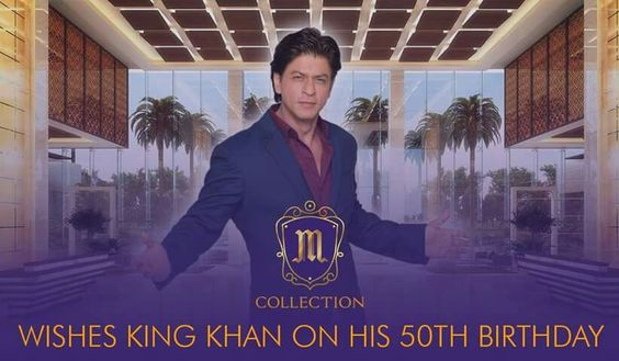 M Collection birthday wishes #SRKat50