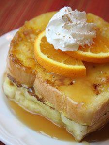 Orange Crusted French Toast