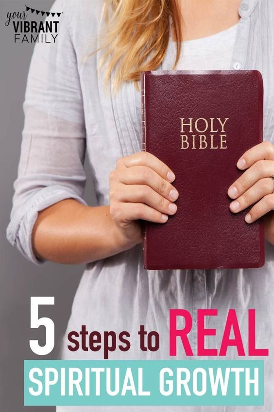 5 Steps Toward Real Spiritual Growth | Prayer journals ...