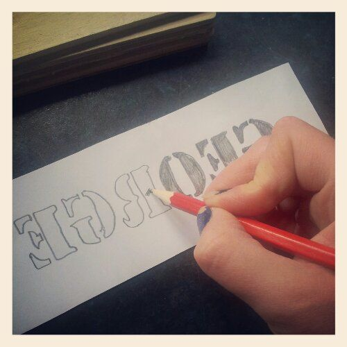 I have lots of exciting photos of our new coop to share soon, but not until it is completely finished. In the mean time I thought I would share with you the process of making the name signs. I am n...