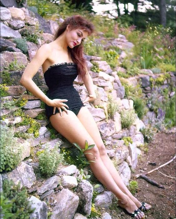 One of the great beauties, Julie Newmar.
