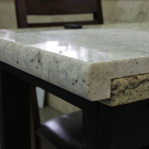 Pencil Edge Profile, one of Natural Stone Sources Standard Edges ...