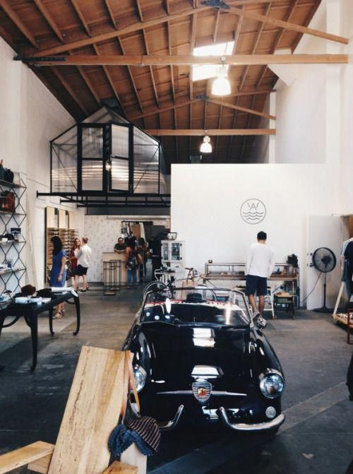 Man Cave Garage Thoughts Garage Interior Warehouse Living