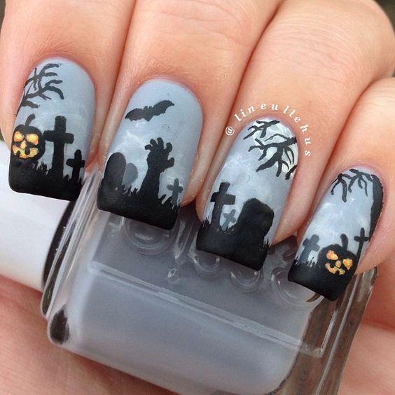 Halloween by lineullehus   #nail #nails #nailart