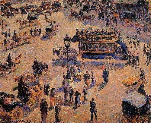 Place Saint Lazare - Camille Pissarro