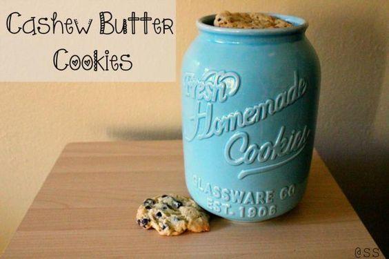 Cashew Nut Butter Cookies *Gluten Free*