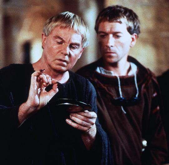 Derek Jacobi & Sean Pertwee (Cadfael & Hugh Beringar):