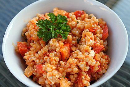 Perlgraupensalat mit Ajvar und Feta, ein beliebtes Rezept aus der Kategorie Party. Bewertungen: 1. Durchschnitt: Ø 3,0.