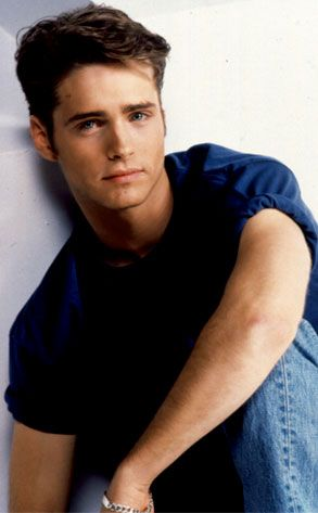 jason priestley........ i got this post card from the show when I was in middle school after I wrote to him