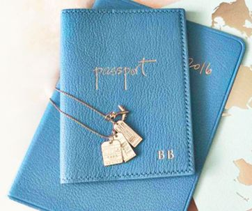 Pretty passport holder