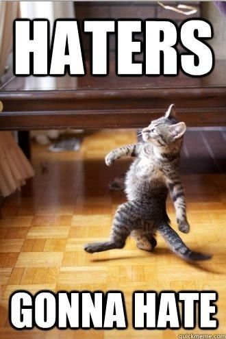=]: Gonna Hate, Giggle, Kitty Swag, Funny Cat, Hate Cats, Haters Gonna, Funny Stuff, So Funny