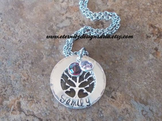Hey, I found this really awesome Etsy listing at https://www.etsy.com/listing/248789501/handstamped-personalized-family-tree