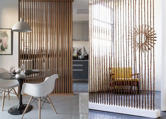 15 inspirations pour diviser une pi ce avec des claustras for Claustra interieur bois