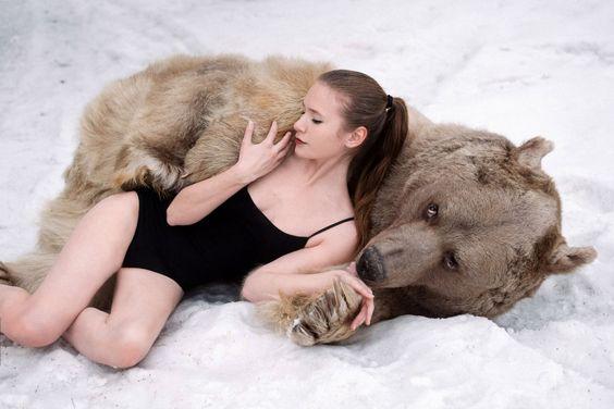 Русские модели нетолько красивы, ноибесстрашны