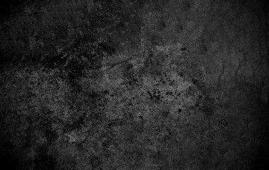 Old Wall Texture Cement Dark Black Gray Background Abstract Grey
