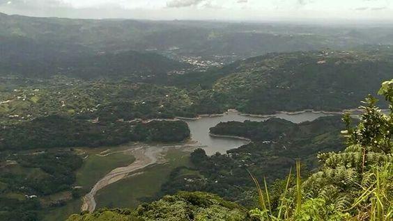 Vista desde el Cerro Morales en Utuado PR