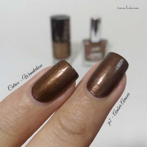 dupesuche - p2 amber amour (9) vs. catrice wanderluxe