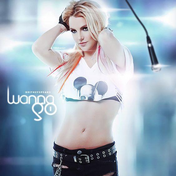 Britney Spears – I Wanna Go (single cover art)