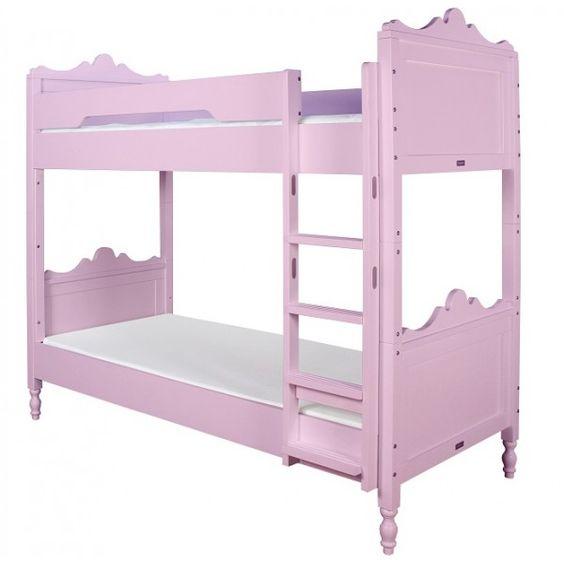 Letto a castello da principessa rosa belle bopita cameretta di pippi cameretta rosa - Letto principessa ...