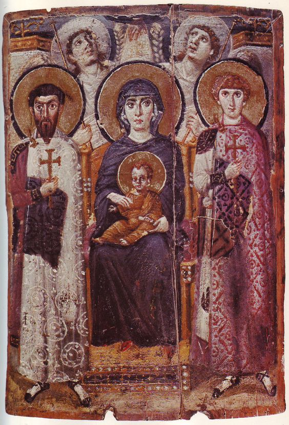 Oldest surviving image of the Madonna, Saint Catherine's Monastery, Mount Sinai, 6th century