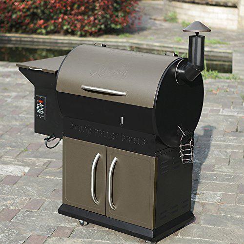 Yoyo 684sqin Wood Pellet Grills Barbecue Grill Smoker Smart Digital Controls 484 W X 51h X 224d Want Barbecue Smoker Grill Wood Pellet Grills Pellet Grill