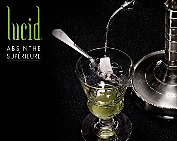 Absinthe...clears the mind!