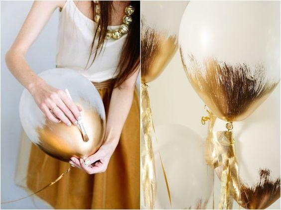 10 ideias para Decorar Bexigas | Blog de Casamento DIY da Maria Fernanda
