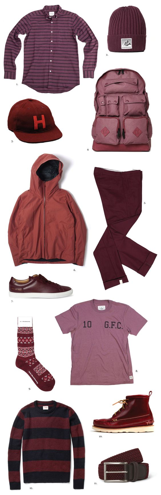 F R E E / M A N - Articles - Burgundy