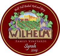 Wilhelm Family Vineyards' award-winning Syrah 2009 {Arizona has wine country!}