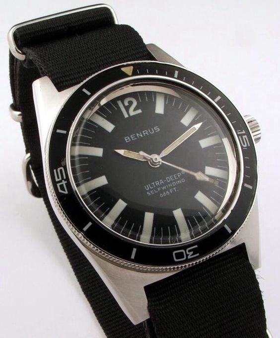 benrus diver s timepieces do not to be