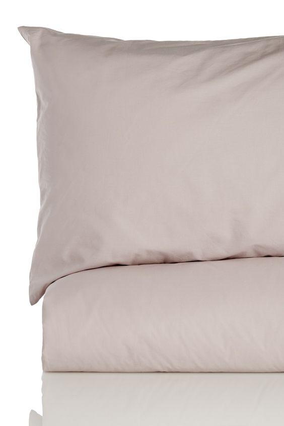 Washed Cotton Poplin Duvet Set - King - Soft Khaki by HABITANTE los angeles on @nordstrom_rack