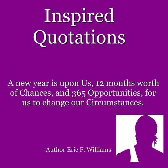 #InspiredQuotations #AuthorEFW #2K15 #AWholeNewYear