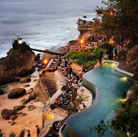 Rock bar bali travel guide pinterest bar rocks and bali for Bali indonesia places to stay