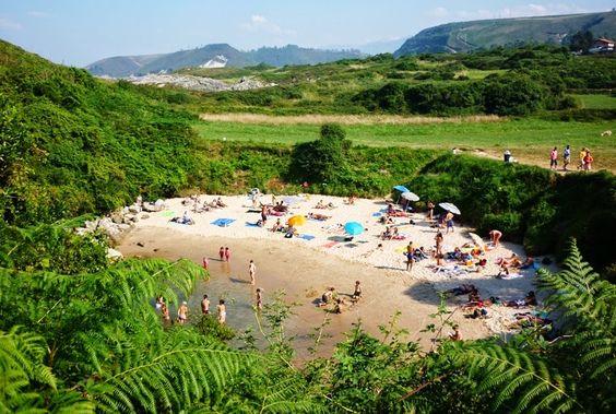 As pessoas a chamam de a praia mais estranha do mundo. Não é difícil entender o por quê