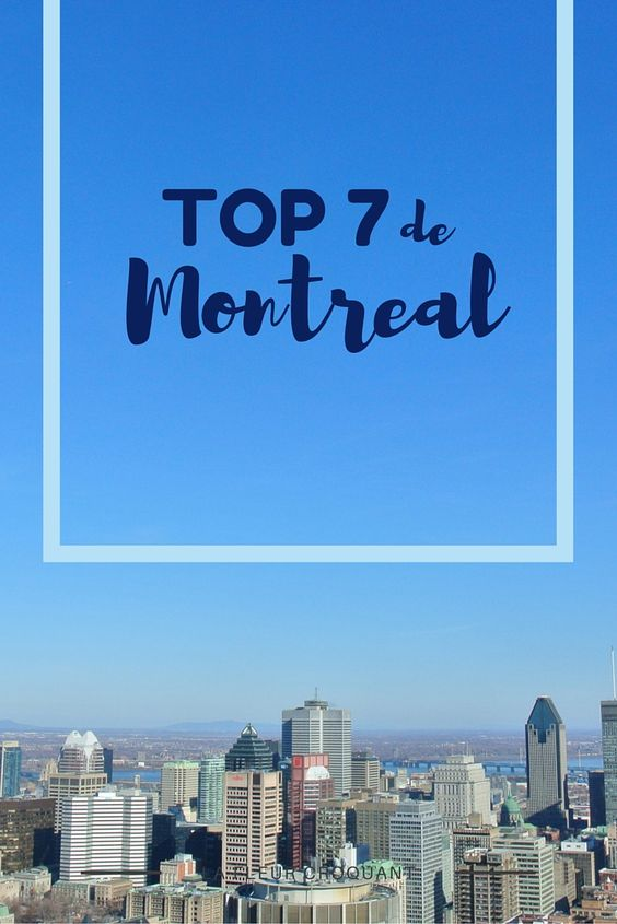 Mis 7 lugares favoritos de Montreal + Cómo ganar 50$ en el casino de Montreal: