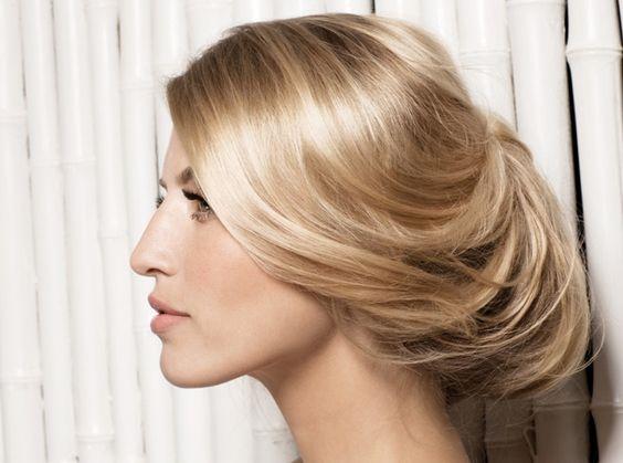 Chignon wedding hairstyle