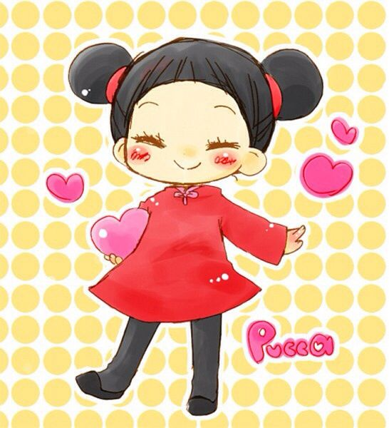 Thunderbird 6 Cartoon Characters : Pucca anime animes pinterest