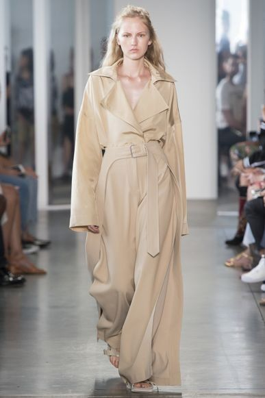 "These are the colours you'll be wearing in 2017: Hazelnut ""A quintessential neutral with a warm undertone, Hazelnut speaks to the idea of transitional color that actually can be worn all year,"" Pantone Color Institute's executive director Leatrice Eiseman told WWD.  Image: Dion Lee See how to use these colours in your home here.:"