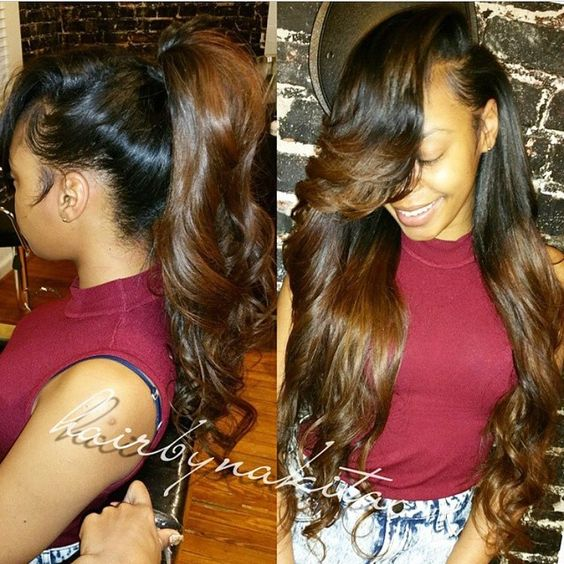 Brazilian Body Wave Sew In Hairstyles Images