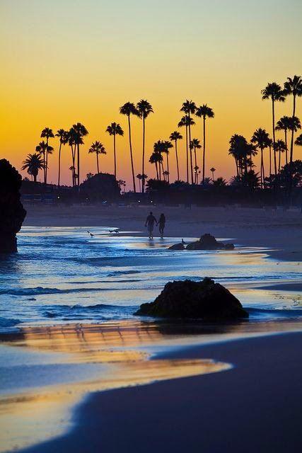 Beautiful sunset in Corona Del Mar California. www.facebook.com/loveswish