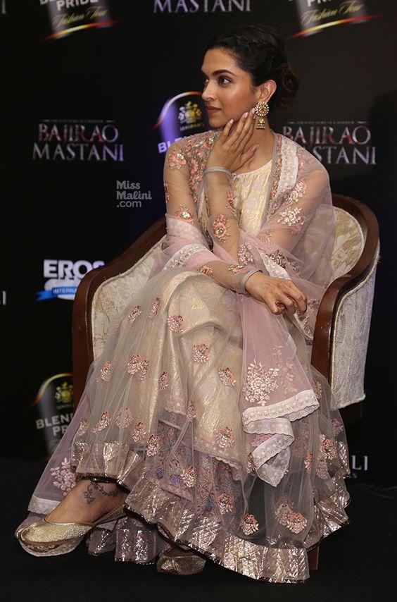 Deepika wearing Salwar Suits