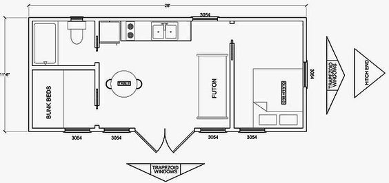 Cabin floor plans floor plans and cabin on pinterest for 10 x 20 cabin plans