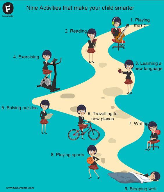 Nine activities that make your child smarter