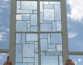 Stained Glass Mosaic Repurposed Window Pieces of von ARTfulSalvage